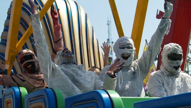 Here Come the Mummies at the Wisconsin State Fair.