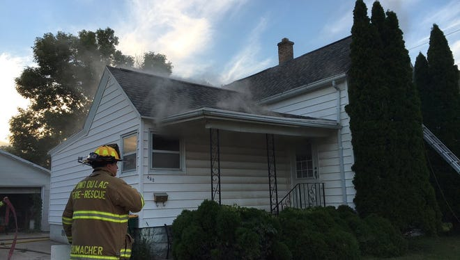 Fond du Lac Fire/Rescue worked to extinguish a fire at 432 Walker Street Saturday night, but not before it caused significant damage to the home.