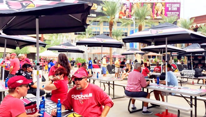 Westgate Entertainment District will launch the Touchdown Tailgate for home games this season.