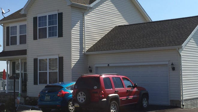 This is the home in Jackson Township where police say Scott M. Hoke killed his wife and then himself.