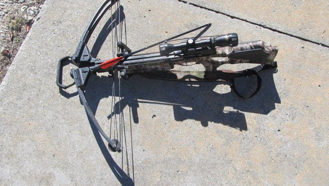 Crossbows like this one are legal during the deer and turkey archery season this year.