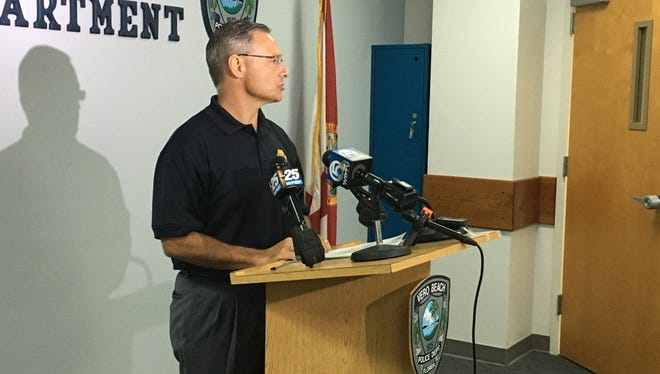 "Vero Beach Police Chief David Currey said, ""We police ourselves. We are not above the law."""