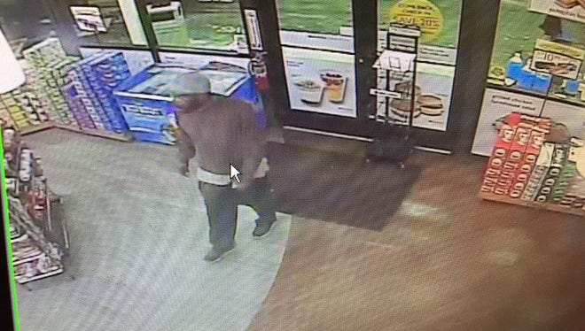 Gunman wanted in Twice Daily armed robbery near Wedgewood-Houston.