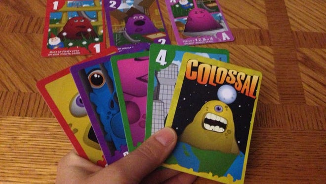 The person who grows to be the largest blobs wins the game of The Colossal Blob.