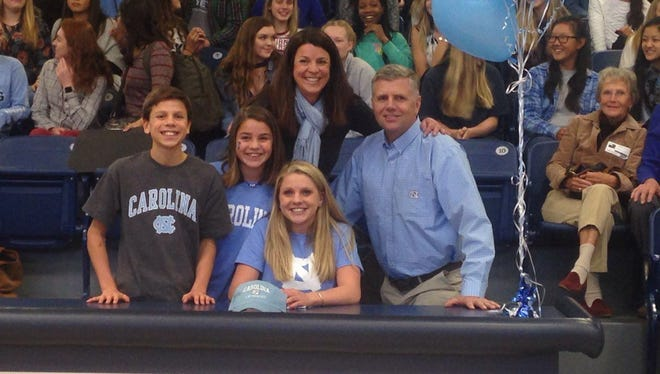 Roberson senior Mary-O Soule has signed to swim in college for North Carolina.