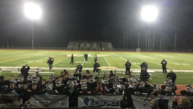 The Wayne Hills football team just ended its practice on Thursday, Nov. 10.