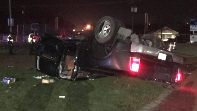John Joseph Callen, 43, was killed in this one-vehicle crash Monday night in Decatur