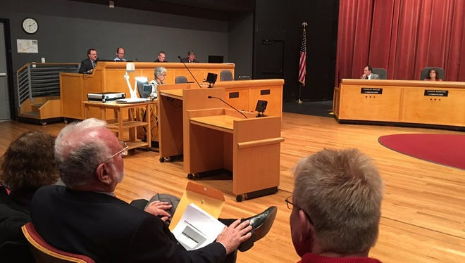 The Thousand Oaks Planning Commission on Monday night found that a proposed Ventura County Fire Department station in a residential neighborhood is consistent with the city's general plan, disappointing some residents who oppose the project.