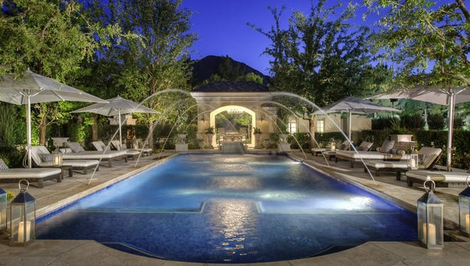 This Paradise Valley mansion  sold in January 2017 for $12.75 million.