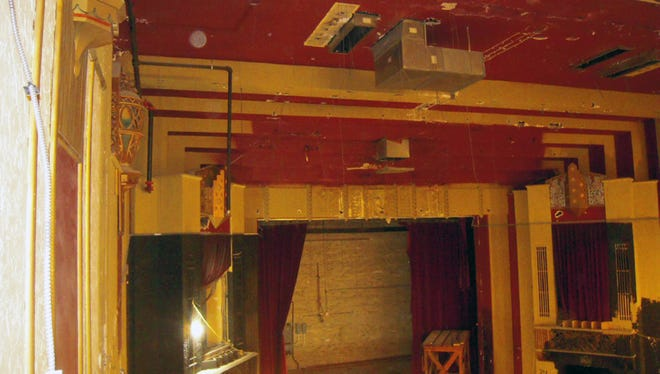 An interior photo of the West Bend Theatre.