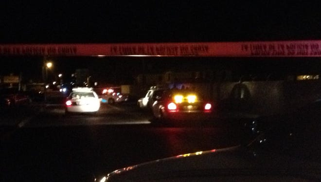 El Paso police were investigating a shooting late Tuesday in the Lower Dyer area.