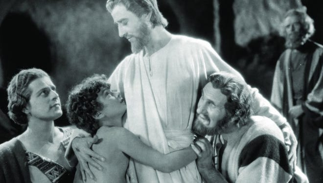 "H.B. Warner is ""The King of Kings,"" Jesus Christ, in the 1927 Cecil B. DeMille film, which screens Wednesday at the Memphis Brooks Museum of Art."