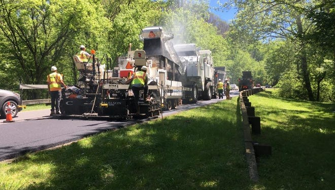 Paving will begin on the Spur between Pigeon Forge and Gatlinburg on Monday, May 8.