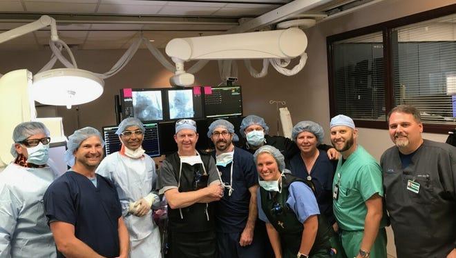 Pacemaker procedure team at CHRISTUS Shreveport-Bossier.