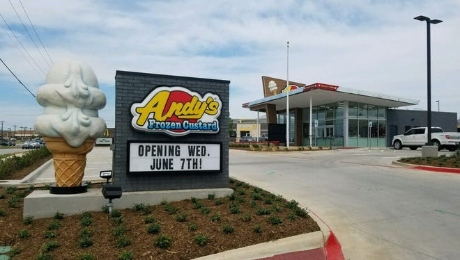 This location in Fort Worth, Texas, makes 50 operating restaurants for Springfield-based chain Andy's Frozen Custard.