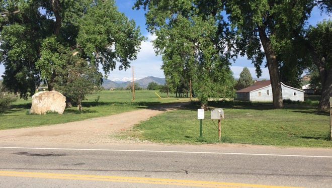 The approximate location where an officer-involved shooting occurred in Loveland late Thursday night.