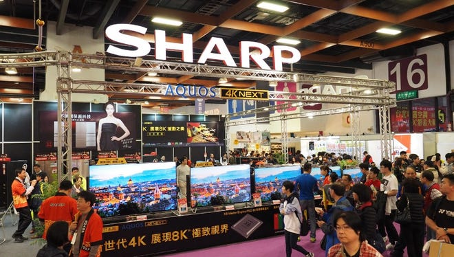 FoxConn acquired Sharp Corp. last year.