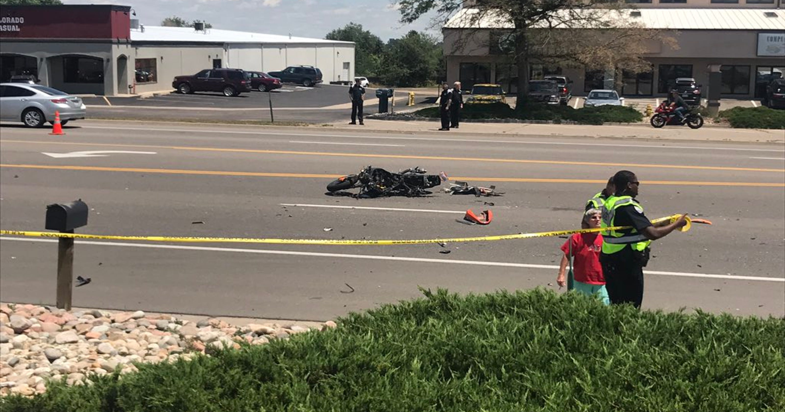 Police suspect drugs as factor in Fort Collins motorcycle crash