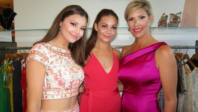 Caroline, Sydney and Jessica Colligan