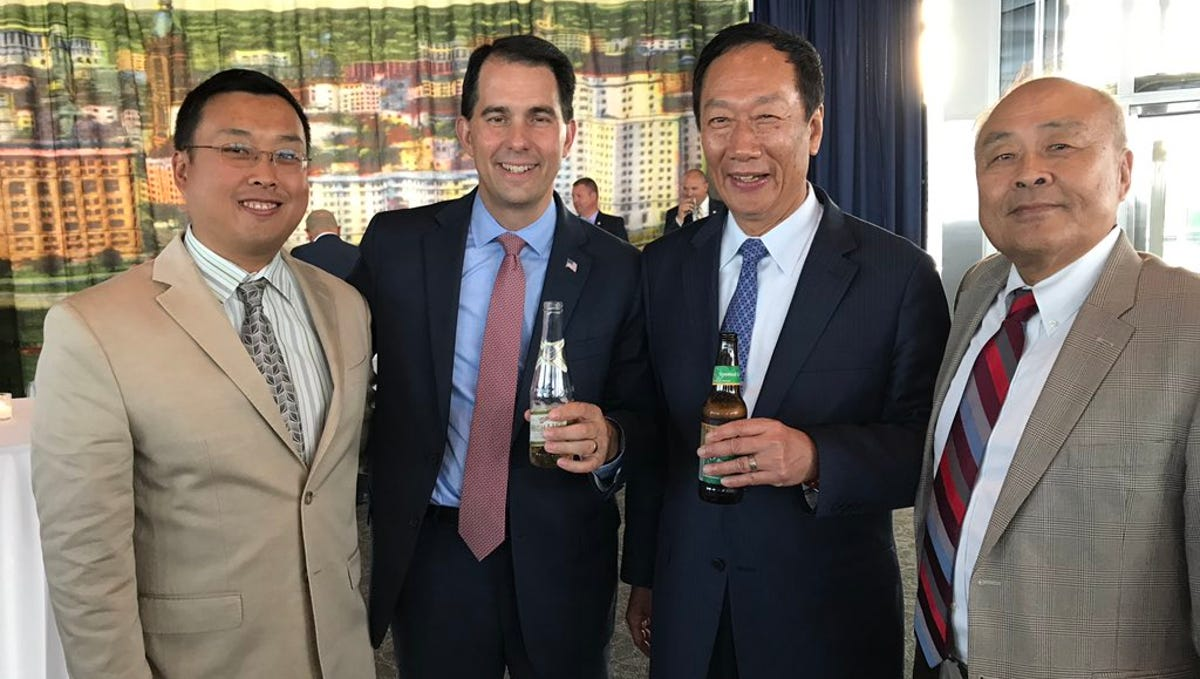 Tech Giant Foxconn Inks Deal To Boost Wisconsin Ginseng Growers