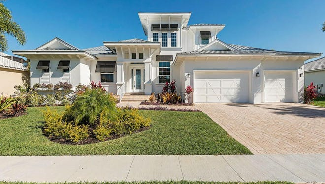 The Dominica model on Marco Island by Frey & Son Homes is available priced at $2.095 million.