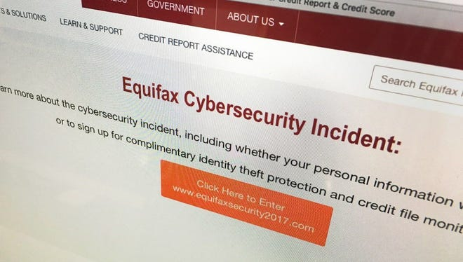 "Equifax's web site has a dedicated link related to its ""cybersecurity incident."""