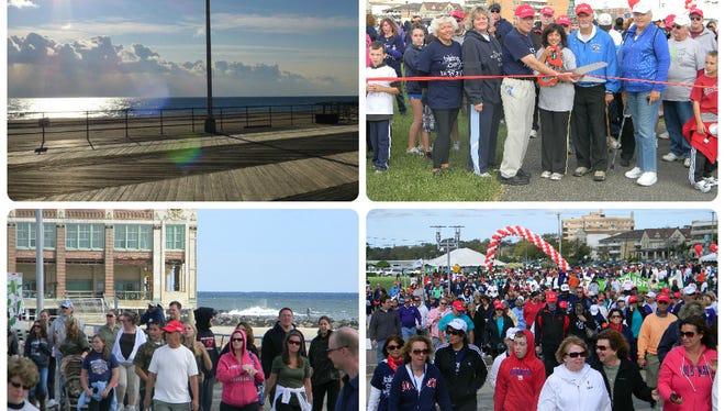 The American Heart Association Shoreline Heart Walk is back at the Asbury Park Boardwalk on Sunday, October 1