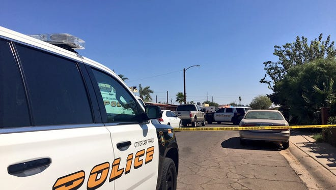 Casa Grande police are investigating the shooting that took place between Farmers Avenueand Ash Avenueon West 13th Streetin a duplex-type residence around 8:15 a.m. Neighbors called police to report hearing gunshots, and police found the bodies in the home.
