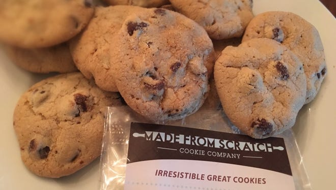 Made from Scratch Cookie Company chocolate chip cookies.