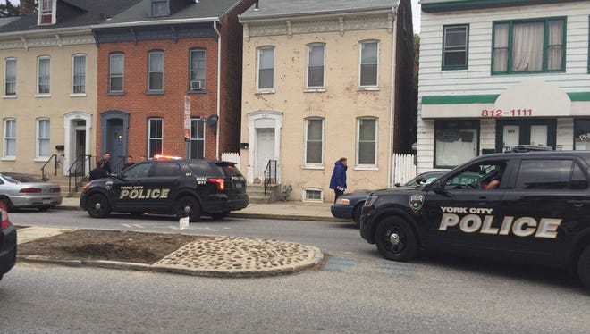 A girl was injured in a shooting in the 600 block of East Philadelphia Street in November, according to York City Police. The number of shootings reported in York dropped from 67 in 2016 to 33 in 2017, York City Police said.