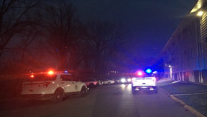 Police received a report of two shots fired outside of 2100 26th Street in Des Moines Wednesday evening.