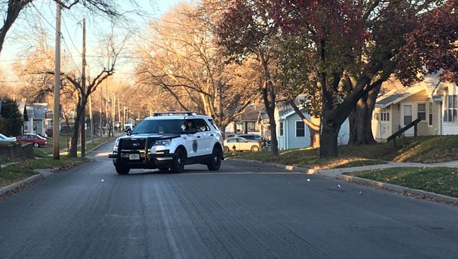Des Moines police are investigating a shooting outside the 3300 block of Wright Street on Thursday.