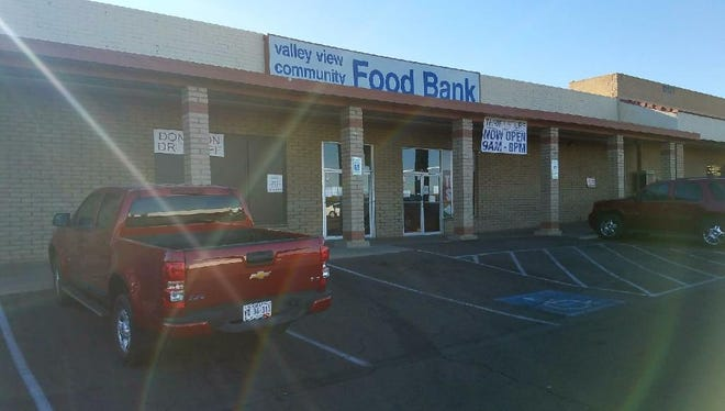 A truck was stolen from outside the Valley View Community Food Bank the night of Thanksgiving.