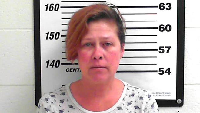 This undated photo provided by the Davis County Sheriff's office shows Cherice Klipfel. Klipfel, from Lakewood, Colo., was arrested in Salt Lake City Sunday, Dec. 10, 2017, and charged with misdemeanor criminal charges, after allegedly assaulting her minor son several times on a Jet Blue flight.