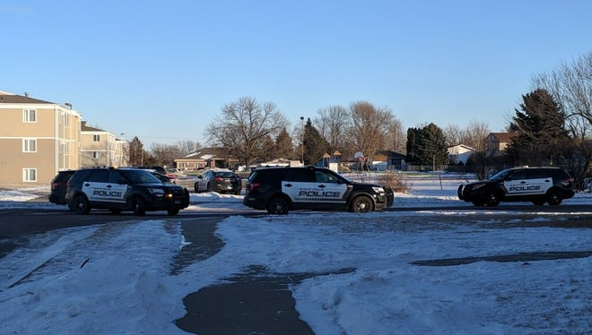 Police respond to reports of shots fired at 44th and larch.