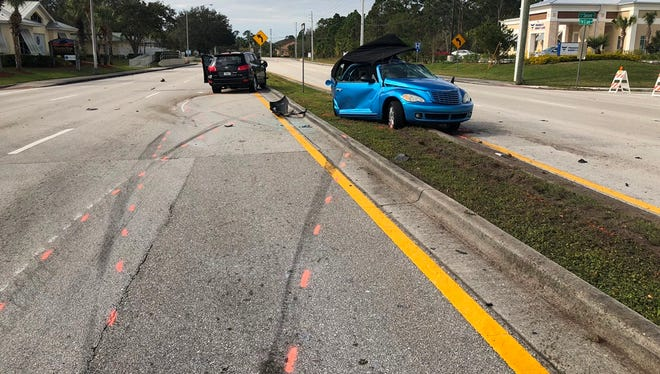 Port St. Lucie Police responded to a fatal crash early Saturday.