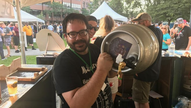 Stock House Brewing Co. has its sights set on moving a nano-brewery into  7208 W. North Ave. in the former home of Evenement Planning by Memorial Day weekend. Co-owner Mark Henry Mahoney has been brewing beer for 10 years.