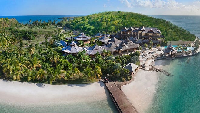 Saint Andrew, Grenada: This 25-bedroom rental sleeps 50.