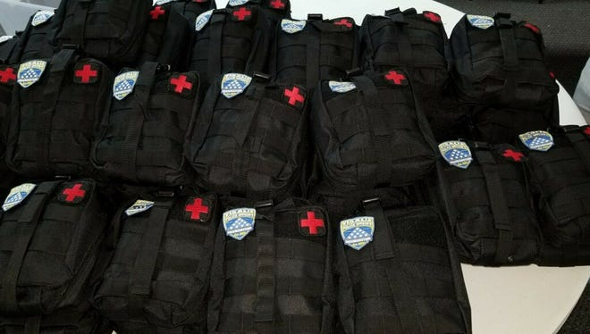 First aid kits for cops