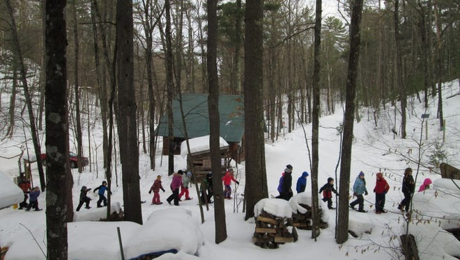 The North End Trailhead is a wonderful place to start any number of adventures. You can skate or classic ski, snowshoe, hike, mountain bike, or fat bike. There's something to do in every season, and the warming hut is a great place to warm up or wait for friends.