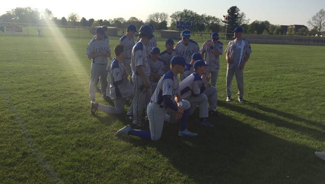 The Cedar Crest baseball team had their moment in the sun on Monday despite an 8-0 loss to Manheim Township, clinching the Section 1 championship when McCaskey upset Warwick.