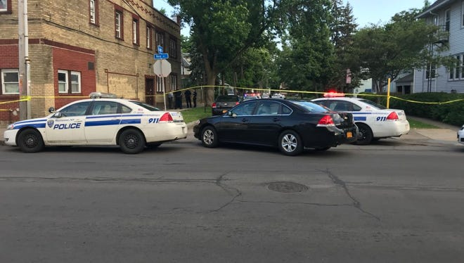 Rochester police have Bay and 8th streets closed down after a report of a shooting.