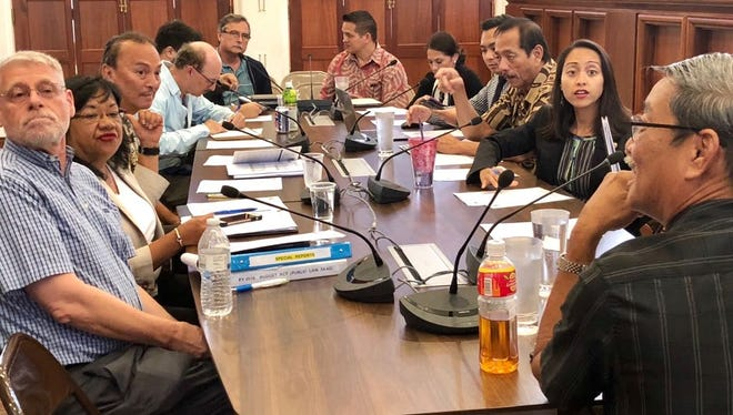 Members of the Special Economic Services group convene Friday at the Guam Legislature to get an update on government finances, the tax amnesty program and a proposal to repeal the 2 percent sales tax law, among other issues.