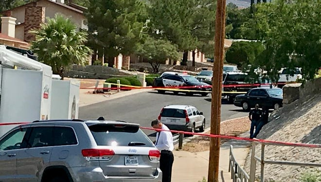 The El Paso Police Department is investigating a shooting that left one dead and another injured Monday morning at Tarascas Drive and Paseo de Luna.