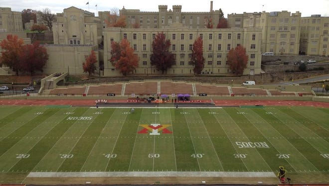 Furman renews its old rivalry with VMI today as the Paladins visit the Keydets.