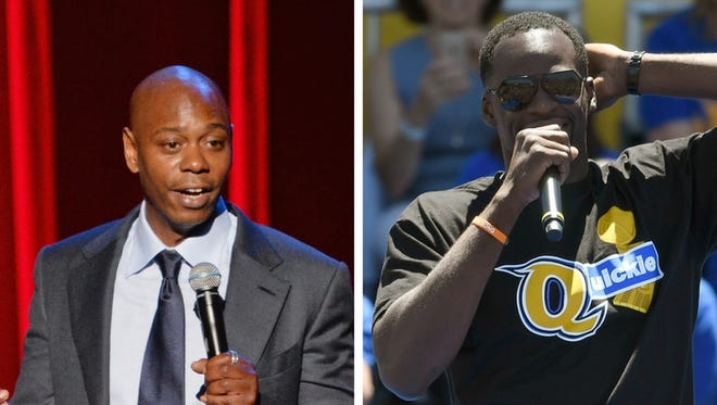 Dave Chappelle's latest comedy special features a joke with Draymond Green's name used as a punchline.