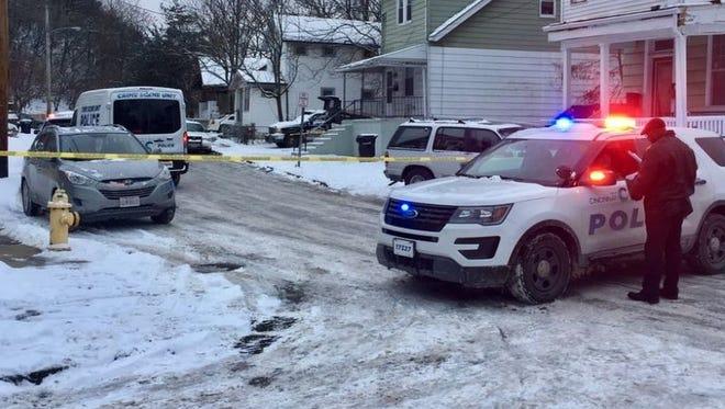 The Cincinnati Homicide Unit is on the scene of a death investigation in Mt. Auburn.