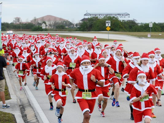 Run Run Santa 1 Mile Race