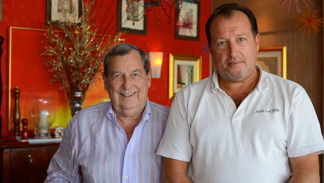 Bill Heiss and Scott Earick  opened Scott's on Fifth in Indialantic in 2006. Tuesday night, Heiss suffered a massive stroke.