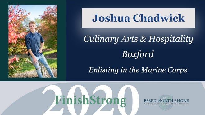 Joshua Chadwick, of Boxford, is a graduate of Essex Tech.